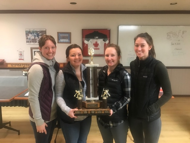 2018 Ladies Open A event Winners