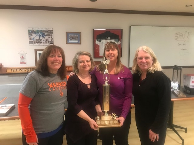2018 Ladies Open B event Winners