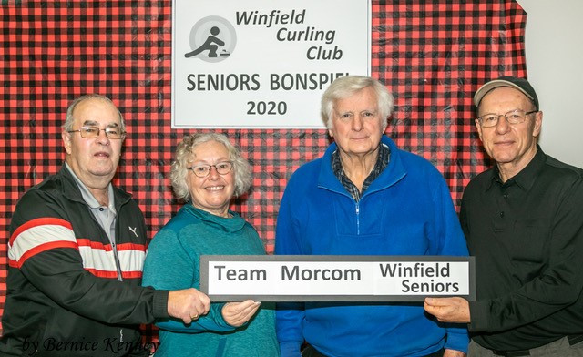 2020 Seniors Bonspiel Pool 1 Second-place