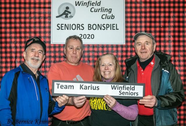 2020 Seniors Bonspiel Pool 2 Second-place