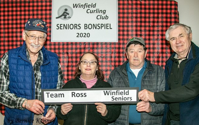2020 Seniors Bonspiel Pool 2 Winners