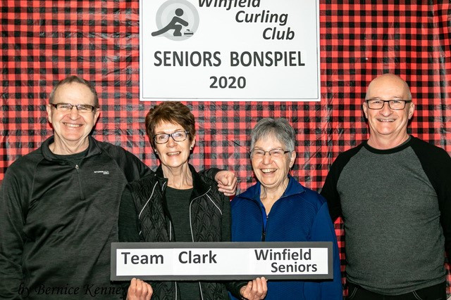 2020 Seniors Bonspiel Pool 1 Winners