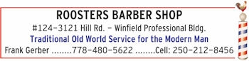 Roosters Barber logo