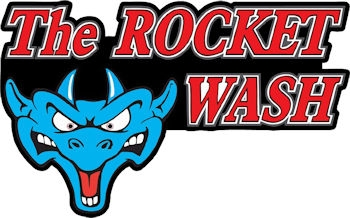 The Rocket Wash Logo