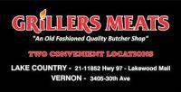 Grillers Meats Sponsor Sign lynn